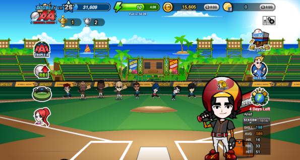 baseball heroes arief